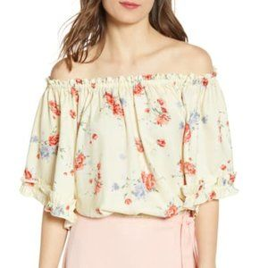 Wayf | Ginnie Off The Shoulder Floral Top